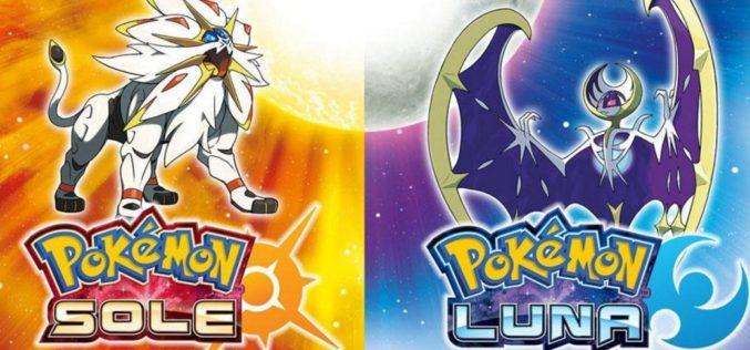 Pokémon Sole e Luna: è record di vendite per l'Europa!