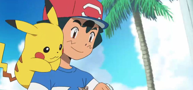 La prima stagione dell'anime di Pokémon Sole e Luna disponibile su Netflix!