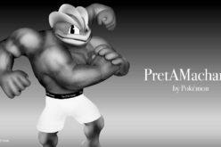 """Machamp diventa un modello di intimo nella nuova linea di moda """"PretAMachamp""""!"""