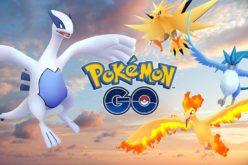 Articuno, Zapdos e Moltres tornano catturabili in Pokémon GO per un tempo limitato!