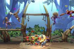 Trailer di annuncio per Brawlout, un gioco sullo stile di Super Smash Bros.