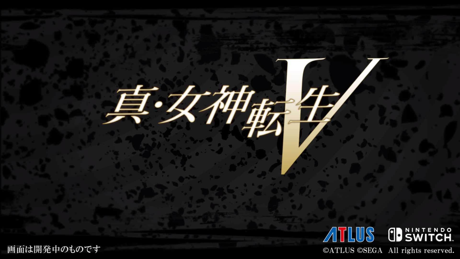 Shin-Megami-Tensei-V
