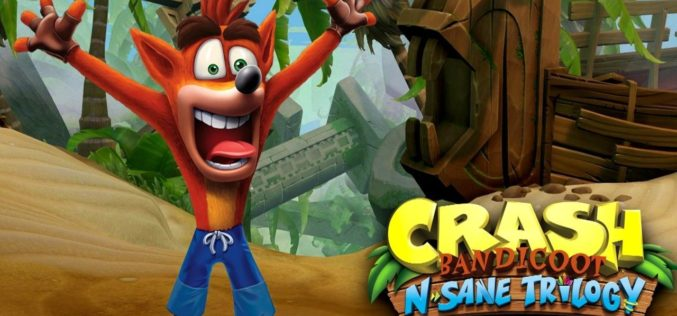 Crash Bandicoot N.Sane Trilogy su Switch è stato anticipato!