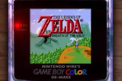 Ecco come sarebbe Zelda: Breath of the Wild su Game Boy Color!