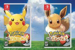 Qualche nuovo dettaglio su Pokémon Let's Go Pikachu e Let's Go Eevee!