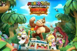 Annunciata la data di uscita del DLC di Donkey Kong su Mario + Rabbids con un nuovo trailer