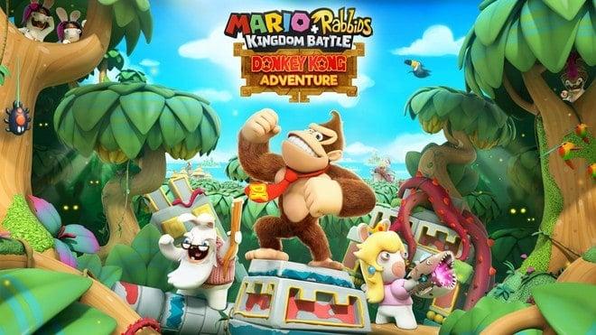 Mario + Rabbits Kingdom Battle Donkey Kong