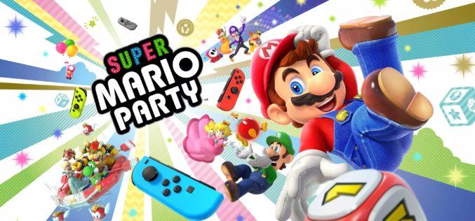 Super Mario Party non sarà giocabile in modalità portatile!