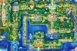Ecco la nuova mappa di Kanto di Pokémon: Let's GO, Pikachu e Eevee!