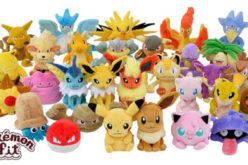 In arrivo 151 nuovi peluche dei Pokémon!