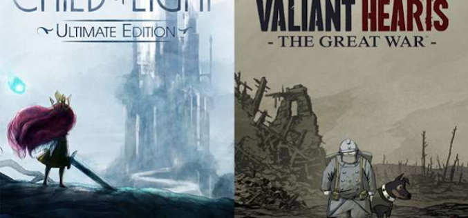 Child of Light e Valiant Hearts in arrivo su Nintendo Switch!
