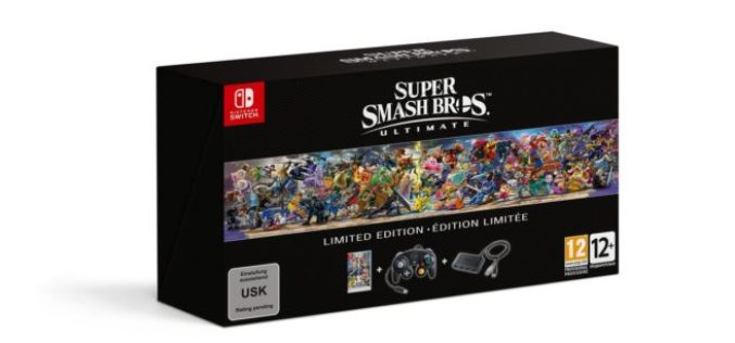 Annunciata una Limited Edition di super Smash Bros Ultimate!