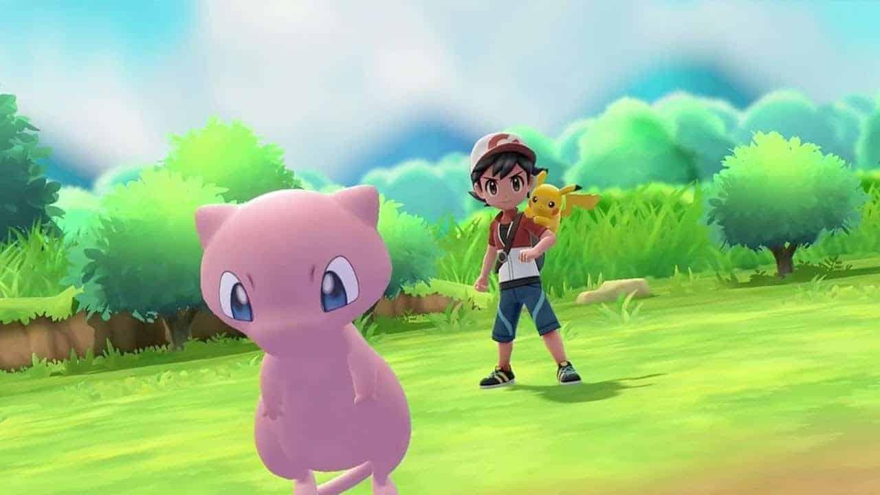 Mew-Pokémon-let's-Go