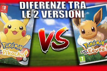 Guida: Tutte le differenze tra Pokémon: Let's Go, Pikachu e Let's Go Eevee!