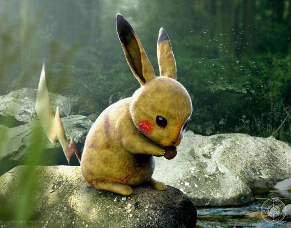 Pikachu-Realistico