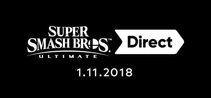L'ultimo direct dedicato a Super Smash Bros Ultimate arriva il 1°novembre!