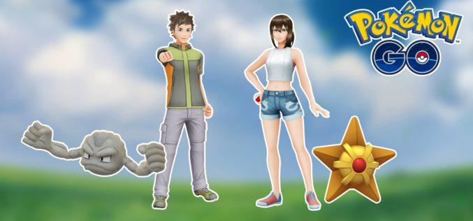 Arrivano i vestiti ispirati a Brock e Misty in Pokémon GO!