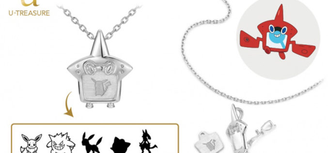 In Giappone arriva la collana a tema Rotom Pokédex con tanto di Pokémon intercambiabili!