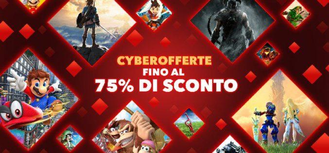 Disponibili le Cyberofferte nel Nintendo eShop di tutte le piattaforme!