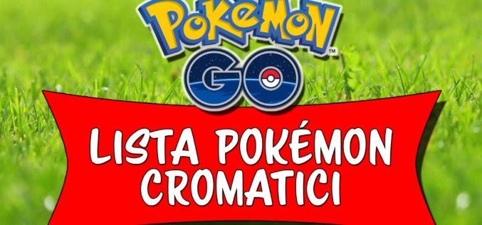 Pokémon Go: Lista di tutti gli Shiny