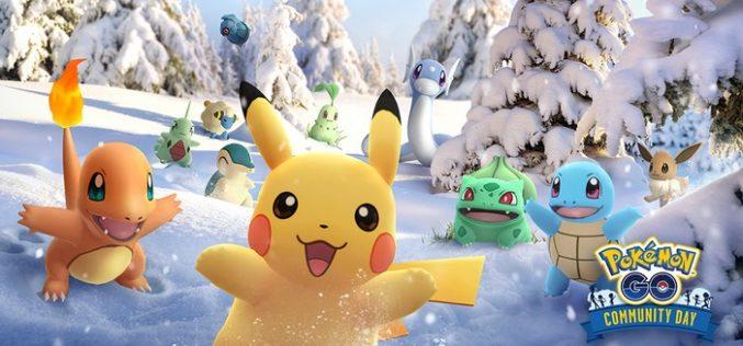 Pokémon GO: In arrivo a dicembre uno speciale fine settimana per festeggiare il primo anno di community day
