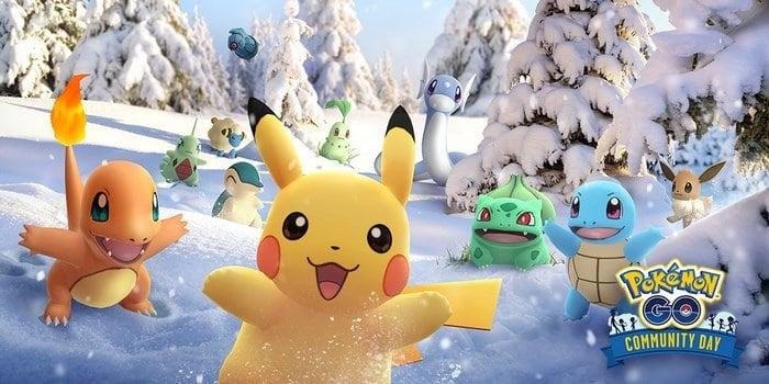 Pokémon GO anniversario community day