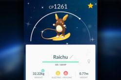 Pokémon Go: Arriva Raichu Forma Alola cromatico