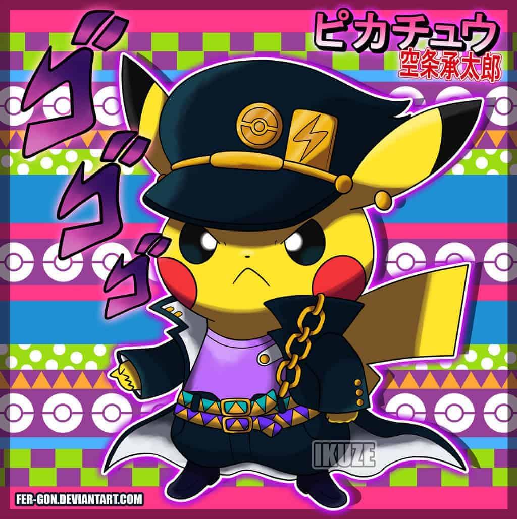 Pikachu-JoJo