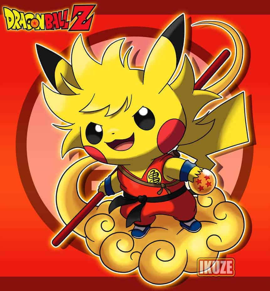 Pikachu-Goku