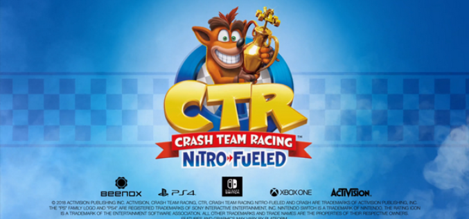 Annunciato Crash Team Racing Nitro – Fueled!