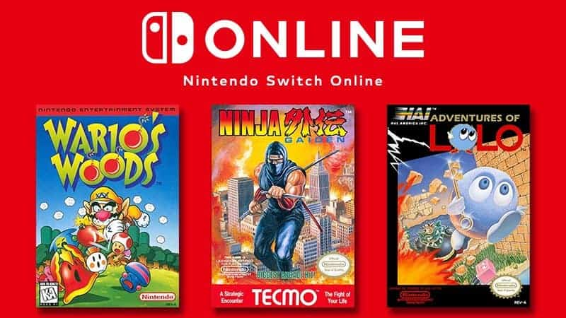 Nintendo Switch Online Dicembre 2018