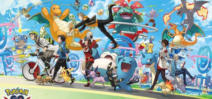 Pokémon GO ha generato 795 milioni di dollari nel 2018, in crescita del 35% rispetto al 2017