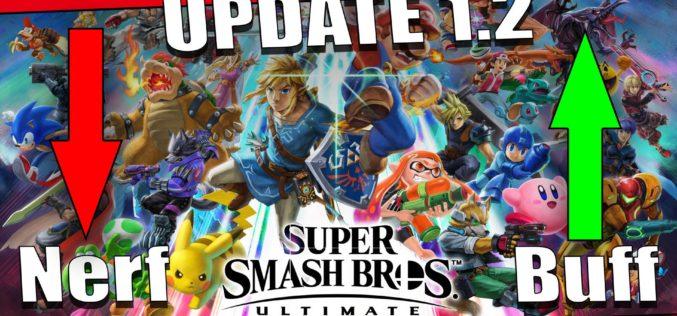 Super Smash Bros. Ultimate si aggiorna alla v1.2 – Tutti i Cambiamenti