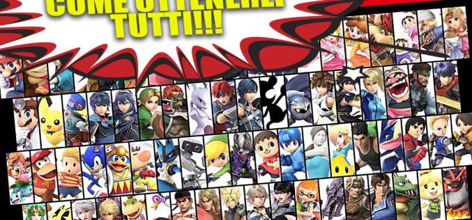 Come Sbloccare Tutti i Personaggi in Super Smash Bros. Ultimate (Nel Minor Tempo Possibile!)