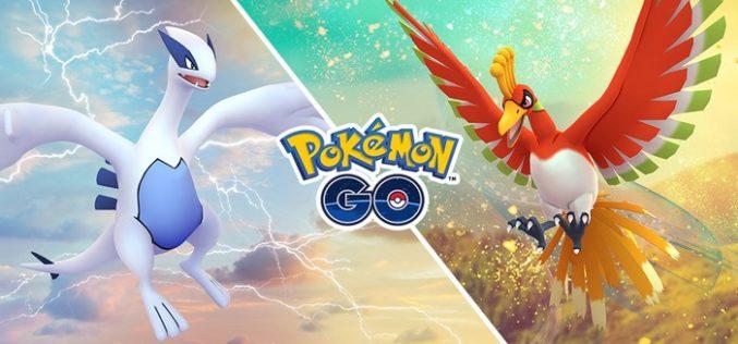 Ho-Oh e Lugia tornano in Pokémon GO!