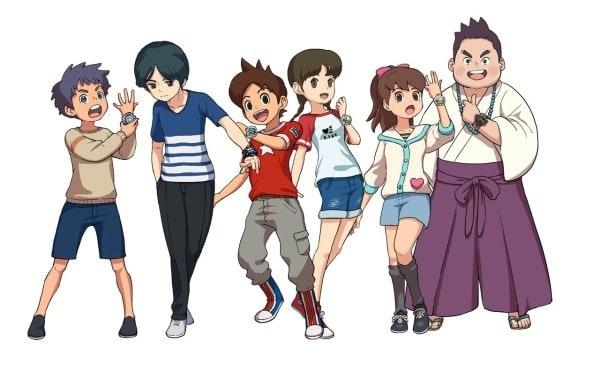 Personaggi Yo-Kai Watch 4